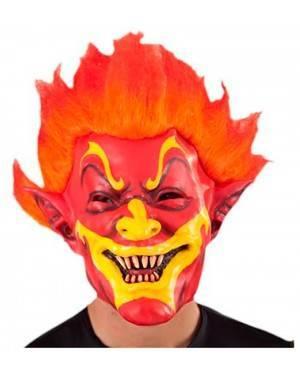 Máscara Palhaço de Fogo