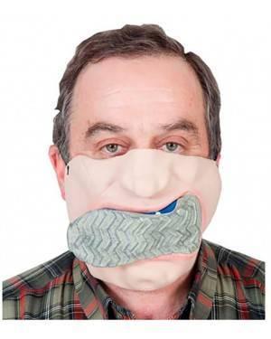 Máscara Sapato na boca (2 Unidades)