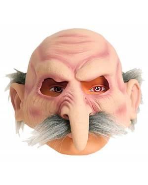 Máscara Velho de Cabelos Grisalhos