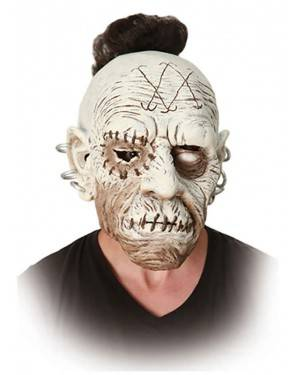 Máscara Zombie Punk