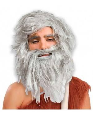Peruca e Barba Idade da Pedra