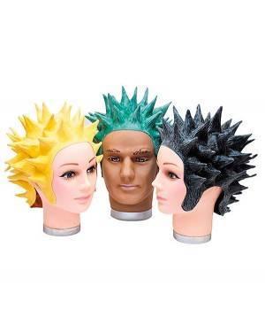 Peruca Látex Goku Preta