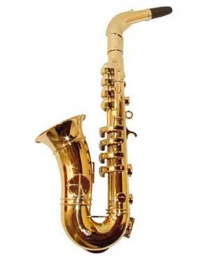 Saxofone com 8 Notas de Ouro