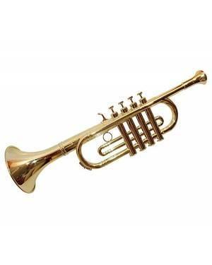 Trombeta com 4 Notas de Ouro