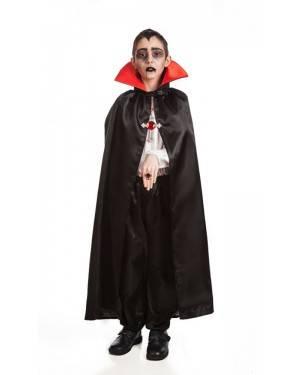 Capa Vampiro 9 a 11 Anos para Carnaval o Halloween | A Casa do Carnaval.pt
