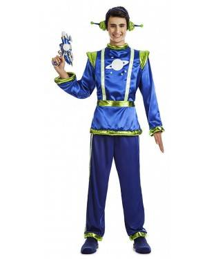 Fato Alien Homem Tamanho M/L para Carnaval