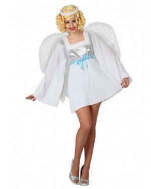 Fato Anjo Natal Sexy Adulto, Loja de Fatos Carnaval, Disfarces, Artigos para Festas, Acessórios de Carnaval, Mascaras, Perucas 469 acasadocarnaval.pt