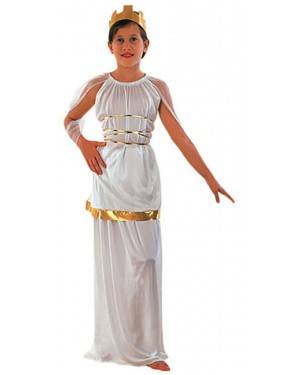 Fato Atena Grega Menina 85052, Loja de Fatos Carnaval acasadocarnaval.pt, Disfarces, Acessórios de Carnaval, Mascaras, Perucas, Chapeus e Fantasias