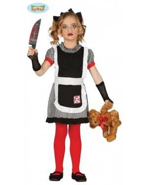 Fato Boneca Diabólica Gótica para Menina para Carnaval o Halloween 12509 | A Casa do Carnaval.pt