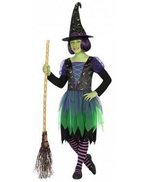 Fato Bruja 10-12 anos para Halloween