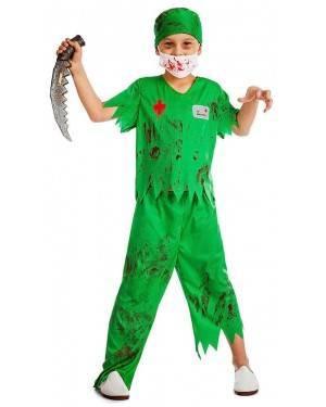 Fato Cirurgião Zombie para Carnaval ou Halloween 8716 - A Casa do Carnaval.pt