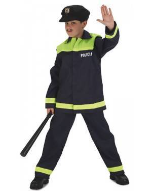 Fato de Polícia Menino para Carnaval o Halloween | A Casa do Carnaval.pt