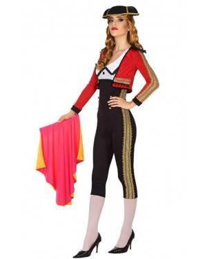 Fato de Toureira Adulto para Carnaval o Halloween | A Casa do Carnaval.pt