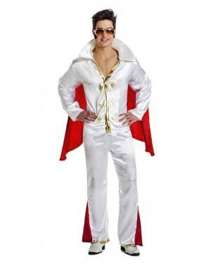 Fato Elvis Rei Rock Tamanho M/L para Carnaval
