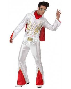 Fato Elvis Rock Adulto, Loja de Fatos Carnaval, Disfarces, Artigos para Festas, Acessórios de Carnaval, Mascaras, Perucas, Chapeus 890 acasadocarnaval.pt