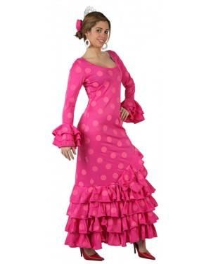 Fato Espanhola Flamenco Rosa Adulto, Loja de Fatos Carnaval, Disfarces, Artigos para Festas, Acessórios de Carnaval, Mascaras, Perucas 124 acasadocarnaval.pt