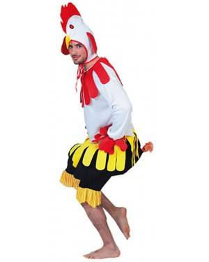 Fato Galo Adulto, Loja de Fatos Carnaval, Disfarces, Artigos para Festas, Acessórios de Carnaval, Mascaras, Perucas, Chapeus 826 acasadocarnaval.pt