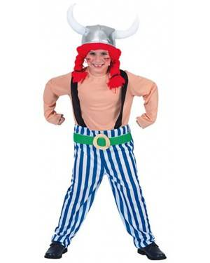 Fato Galo-Obelix Menino  70597, Loja de Fatos Carnaval acasadocarnaval.pt, Disfarces, Acessórios de Carnaval, Mascaras, Perucas, Chapeus e Fantasias