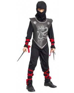 Fato Guerreiro Ninja Menino 70605, Loja de Fatos Carnaval acasadocarnaval.pt, Disfarces, Acessórios de Carnaval, Mascaras, Perucas, Chapeus e Fantasias