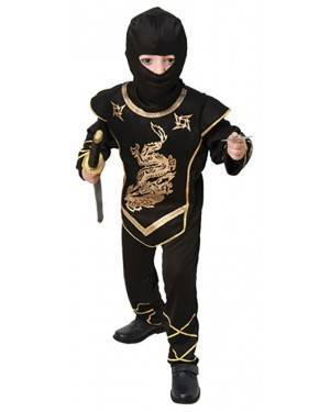 Fato Guerreiro Ninja Menino 70607, Loja de Fatos Carnaval acasadocarnaval.pt, Disfarces, Acessórios de Carnaval, Mascaras, Perucas, Chapeus e Fantasias
