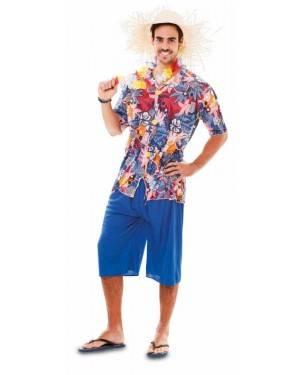 Fato Havaiano Adulto, Loja de Fatos Carnaval, Disfarces, Artigos para Festas, Acessórios de Carnaval, Mascaras, Perucas, Chapeus 492 acasadocarnaval.pt