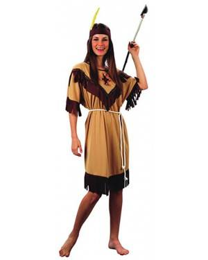 Fato India Marrom Adulto  70178, Loja de Fatos Carnaval acasadocarnaval.pt, Disfarces, Acessórios de Carnaval, Mascaras, Perucas, Chapeus e Fantasias