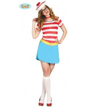 Fato Marinheira Wenda para Mulher para Carnaval o Halloween 05458 | A Casa do Carnaval.pt