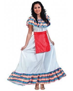 Fato Mexicana Típica Adulto, Loja de Fatos Carnaval, Disfarces, Artigos para Festas, Acessórios de Carnaval, Mascaras, Perucas 997 acasadocarnaval.pt