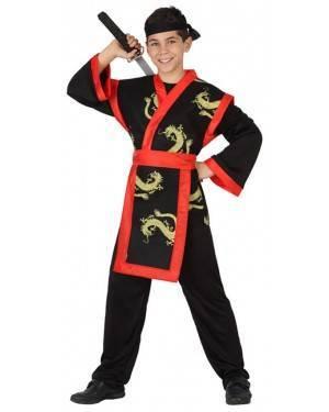 Fato Ninja Dragão Menino, Loja de Fatos Carnaval, Disfarces, Artigos para Festas, Acessórios de Carnaval, Mascaras, Perucas, Chapeus 145 acasadocarnaval.pt