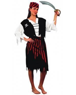 Fato Pirata Riscas Adulto, Loja de Fatos Carnaval, Disfarces, Artigos para Festas, Acessórios de Carnaval, Mascaras, Perucas, Chapeus 625 acasadocarnaval.pt