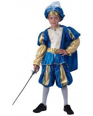 Fato Príncipe Azul Menino 70604, Loja de Fatos Carnaval acasadocarnaval.pt, Disfarces, Acessórios de Carnaval, Mascaras, Perucas, Chapeus e Fantasias