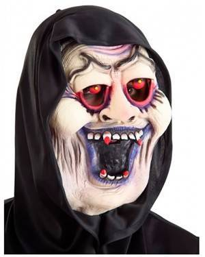 Máscara Drácula com Capuz, Loja de Fatos Carnaval, Disfarces, Artigos para Festas, Acessórios de Carnaval, Mascaras, Perucas, Chapeus 691 acasadocarnaval.pt