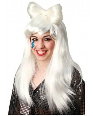 Peruca Lady Gaga, Loja de Fatos Carnaval, Disfarces, Artigos para Festas, Acessórios de Carnaval, Mascaras, Perucas, Chapeus 288 acasadocarnaval.pt