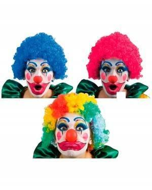 Peruca Palhaço Branca, Loja de Fatos Carnaval, Disfarces, Artigos para Festas, Acessórios de Carnaval, Mascaras, Perucas, Chapeus 308 acasadocarnaval.pt
